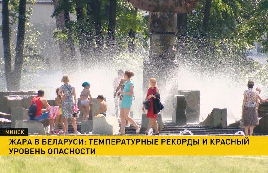 Тепловые травмы, ажиотаж на кондиционеры и мороженое: как белорусы переносят аномальную жару