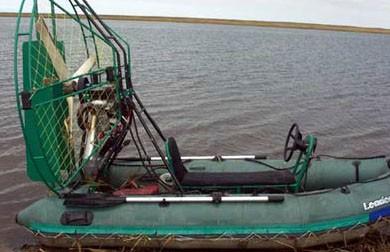 На Припяти перевернулся туристический аэроглиссер: два человека погибли