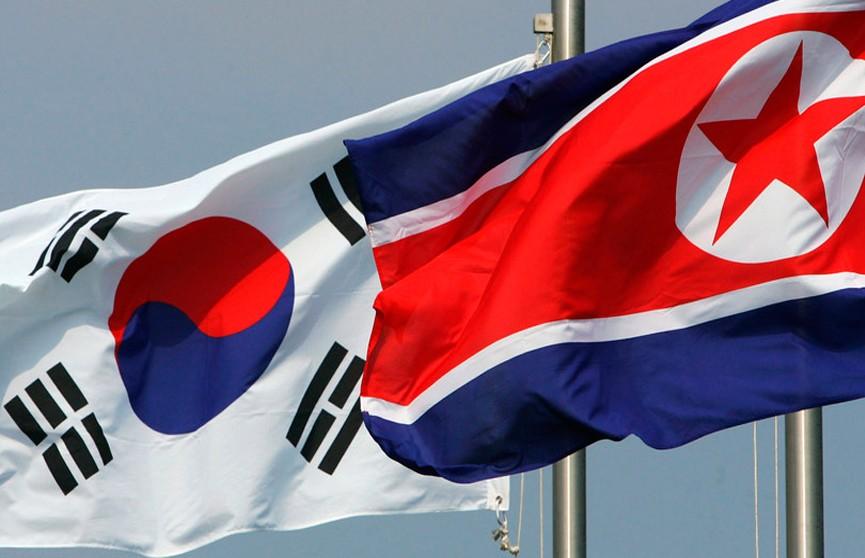 Символическое соединение железных дорог провели Северная и Южная Кореи