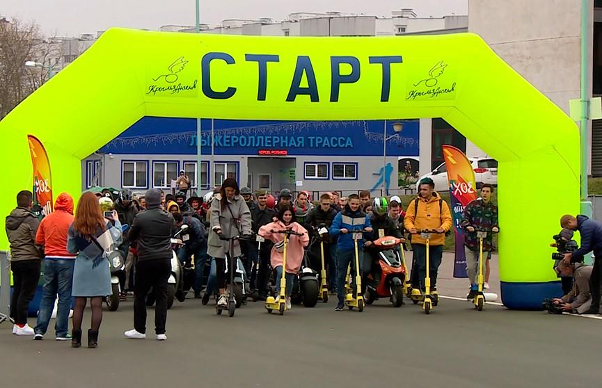 Самокаты и велосипеды, гироскутеры и моноколёса: в Минске официально закрыли сезон электротранспорта