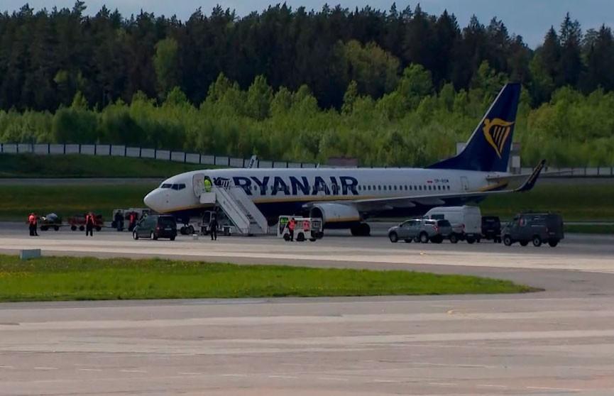 ICAO представит предварительный доклад по инциденту с самолетом Ryanair 23 июня