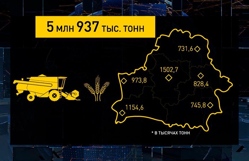 Урожай-2021: осталось убрать меньше 8% площадей