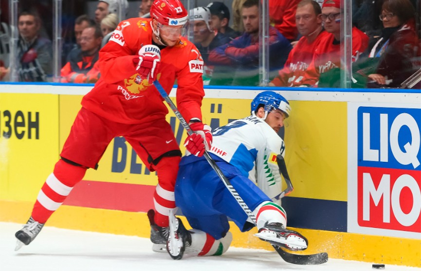 Сборная России по хоккею обыграла итальянцев и установила новый рекорд