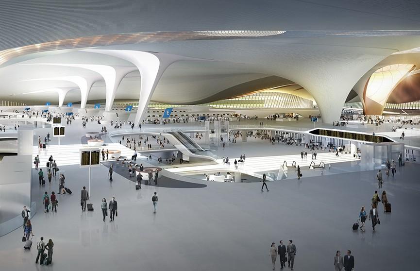25 футбольных полей: в Пекине достроили крупнейший в мире аэропорт