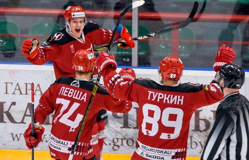 «Неман» победил «Гомель» в чемпионате Беларуси по хоккею