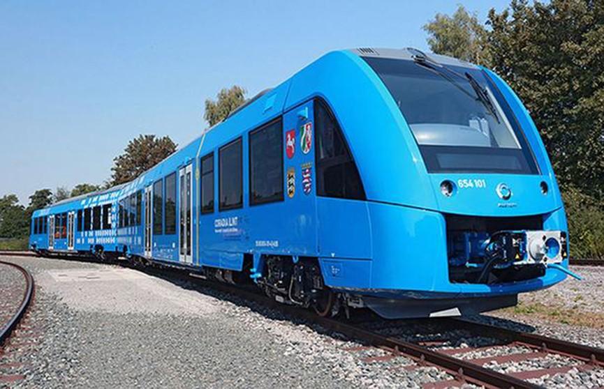 Поезд на водородном топливе испытывают в Германии