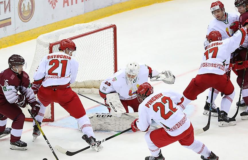 Молодёжная хоккейная сборная Беларуси сохраняет шансы на выход в элитный дивизион