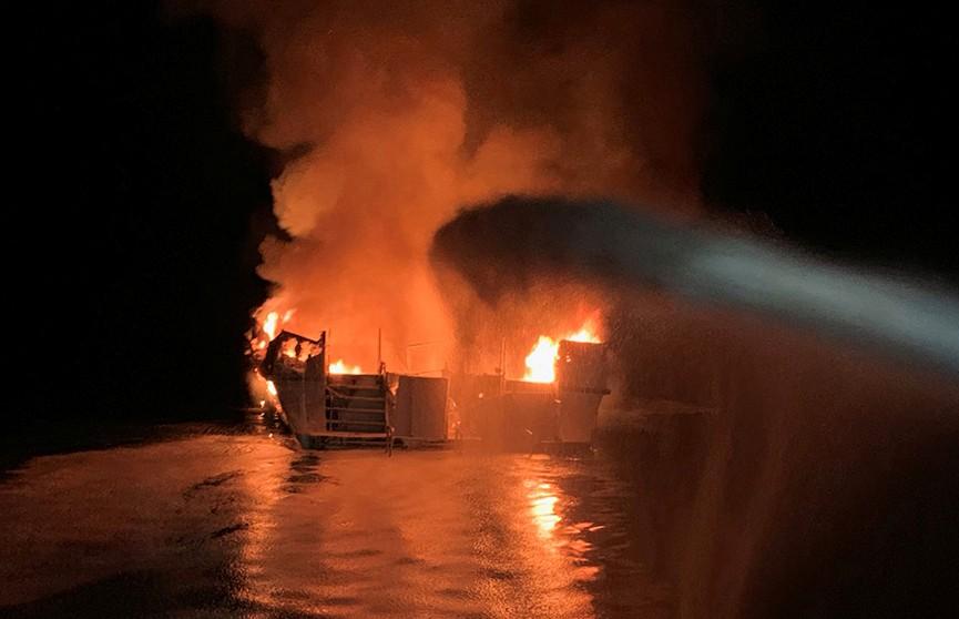 25 человек погибли в результате пожара на прогулочном судне в Калифорнии