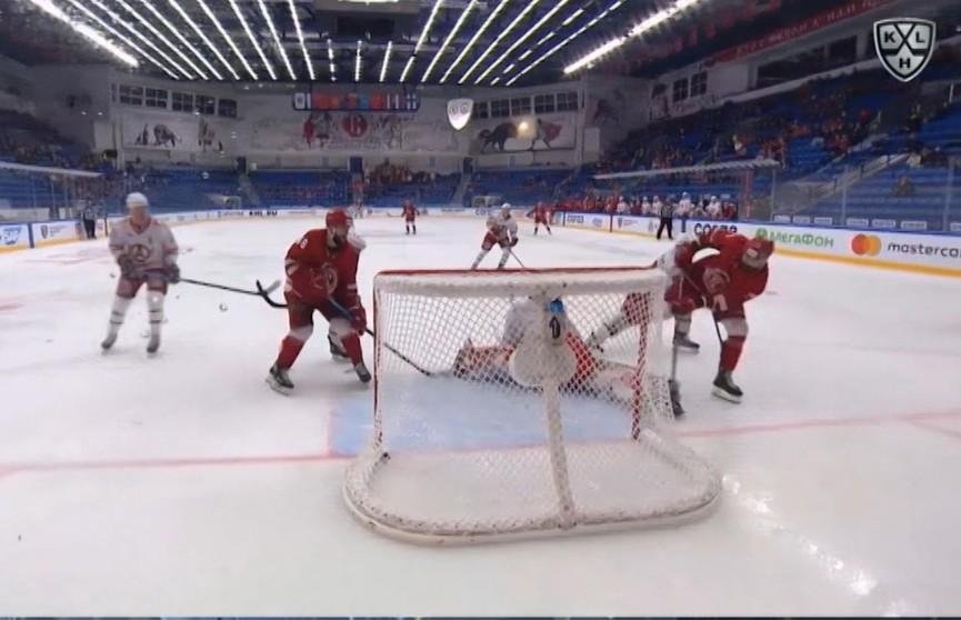 Игроки белорусской сборной сыграли в матчах КХЛ