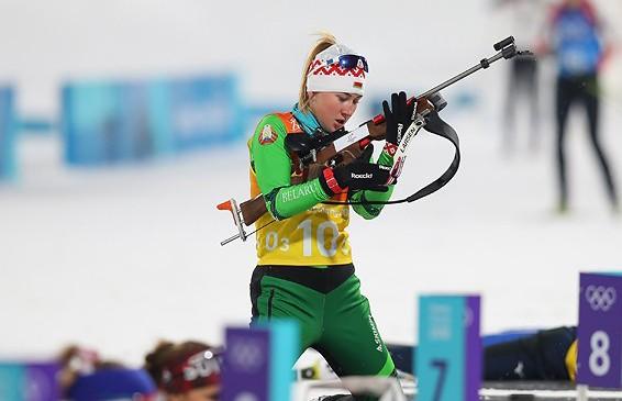 Динара Алимбекова заняла второе место на этапе Кубка мира по биатлону
