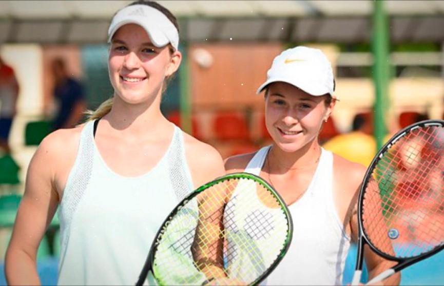 Белорусские теннисистки завоевали золото на юношеском олимпийском фестивале в Баку