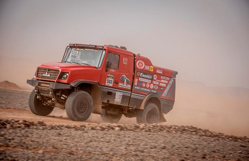 МАЗ Алексея Вишневского победил на шестом этапе ралли-рейда в Марокко