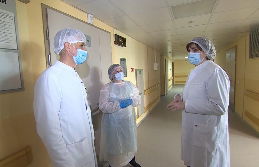 Коронавирус в Беларуси: контроль за ситуацией в больницах
