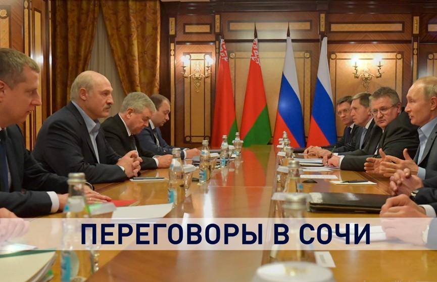 Нефть – по мировым ценам, на чём и настаивала Беларусь. Подробности переговоров Лукашенко и Путина в Сочи