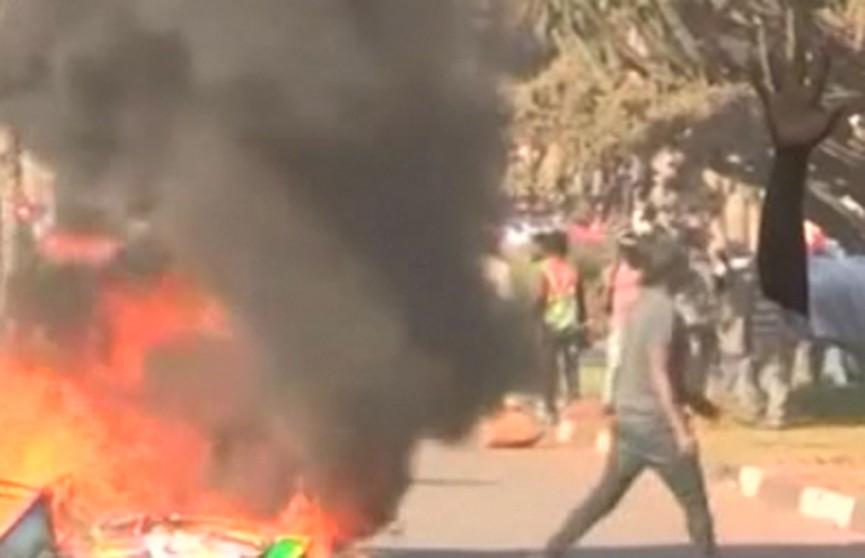 Беспорядки вспыхнули в Зимбабве после оглашения итогов парламентских выборов