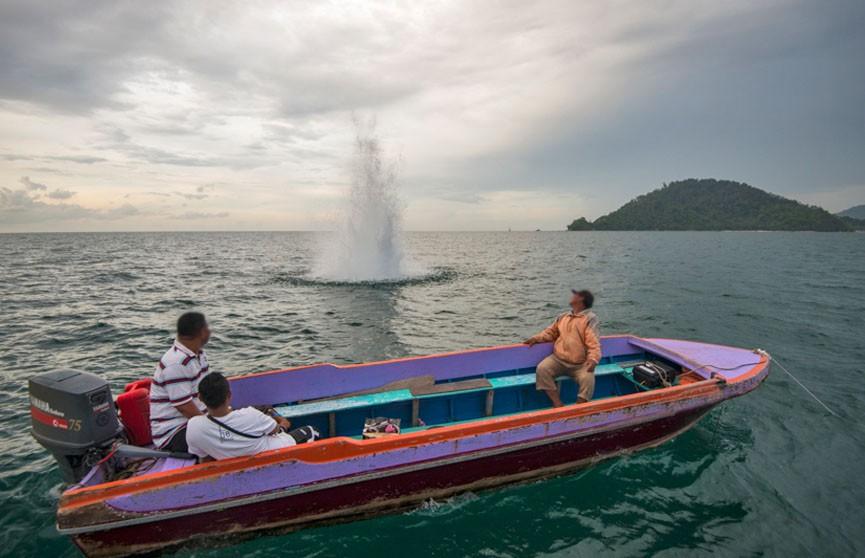 Дайверы погибли от взрывчатки рыбаков в Малайзии
