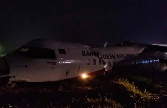 Самолёт бангладешской авиакомпании разбился в Мьянме
