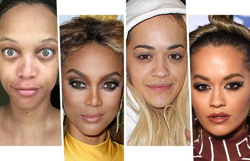 Вот это да! Звезды, которые не стесняются появляться на публике без макияжа