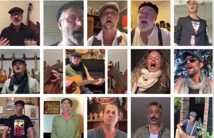 Австралийский хор исполнил советскую военную песню на самоизоляции