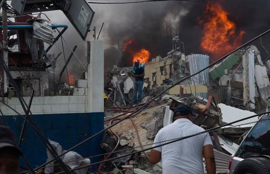 Четыре человека погибли при взрыве газа на фабрике в Доминикане