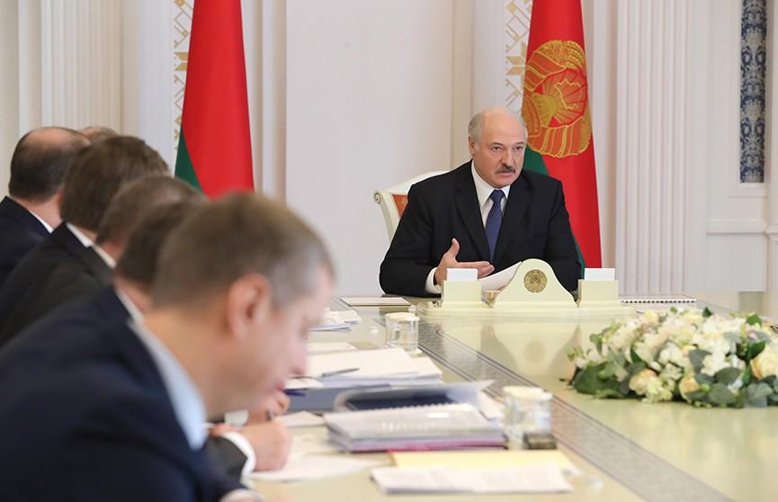 Александр Лукашенко провёл совещание по интеграционному сотрудничеству