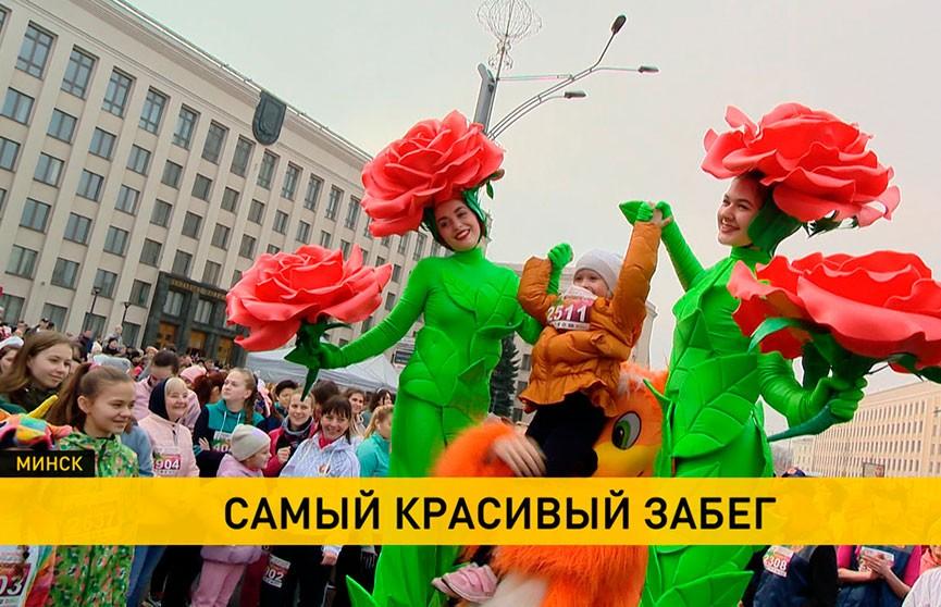 8 Марта по-спортивному: самый красивый и женственный забег Beauty Run-2020 прошел в Минске