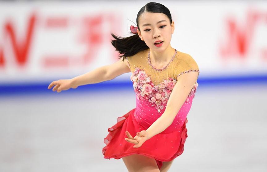 Японская фигуристка Рики Кихира установила мировой рекорд в короткой программе