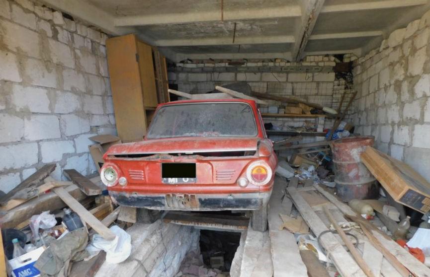 В Могилеве в гараже поселился неизвестный и продавал оттуда имущество