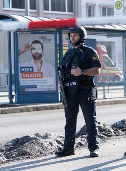 Страляніна ў Мюнхене: загінулі два чалавекі