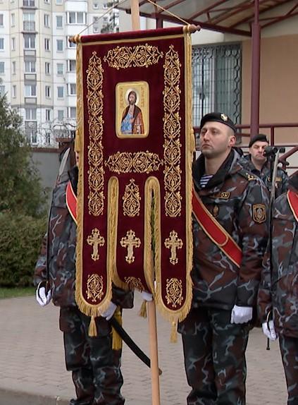 Духовное знамя появилось у минского ОМОНа
