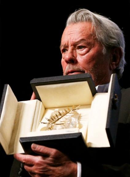 Ален Делон удостоен почётной «Золотой пальмовой ветви» Каннского кинофестиваля