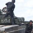 Отбор экипажей для участия в Международных армейских играх проходит на полигоне под Борисовом