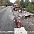 Водитель въехал в ограждение на мосту в Житковичском районе. Один человек пострадал