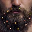 Гирлянду для бороды начали продавать в Британии