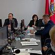 Наталья Кочанова приняла участие в заседании Пуховичского райисполкома