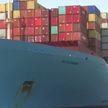 Гигантский контейнеровоз сел на мель в Суэцком канале и перекрыл дорогу другим кораблям