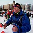 На лыжероллерную трассу в Веснянке вышли сотрудники крупнейших предприятий страны
