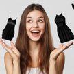 Как выбрать идеальное чёрное платье, которое будет стройнить: 4 чётких правила