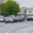 Серьёзная авария в Гродно: одного из водителей увезли на «скорой»