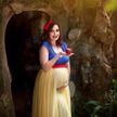 Фотограф примерила на будущих мам образ диснеевских принцесс