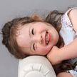 Четырёхлетняя девочка с синдромом Дауна стала популярной моделью