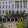 В центре Лондона установили необычную инсталляцию из растений