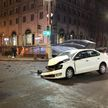 Массовая авария произошла в центре Минска из-за проезда на красный