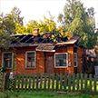 На переулке Кабушкина в Минске горел частный дом