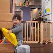 Хитрость удалась: мать оставляла годовалого ребёнка дома с её картонной копией