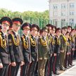 В Минском суворовском военном училище состоялся юбилейный выпуск