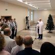 Президент поздравил ребят, которые встречают праздник в клинике, и пообщался с коллективом Центра детской онкологии