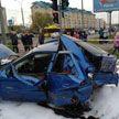 Массовое ДТП в Бресте: столкнулись 5 машин – фото