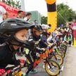 Более двухсот юных велогонщиков вышли на старт в Китае