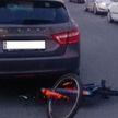 Девятилетний мальчик на велосипеде попал под машину